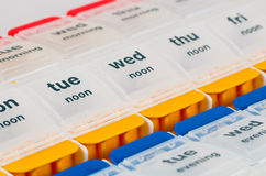 Pille-Kasten lizenzfreie stockbilder