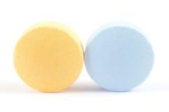 Pille und Vitamin Lizenzfreie Stockbilder