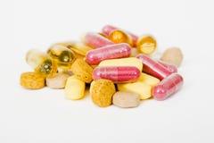 Pillen Royalty-vrije Stock Foto