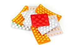 Pillen Lizenzfreies Stockbild