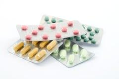 Pillen Stockbild