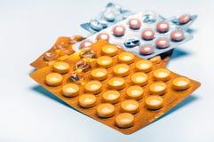 Pillen Stock Foto