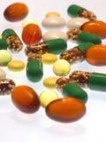 Pillen Allsorts Lizenzfreie Stockbilder