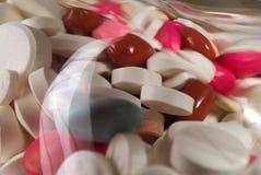 Pillen/Drogen stockfoto