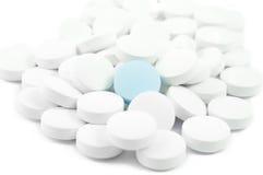 Pillen en drugs Royalty-vrije Stock Foto