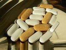 Pillen en geneeskunde Royalty-vrije Stock Afbeeldingen