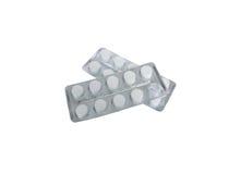 Pillen (geneeskunde) Stock Afbeeldingen