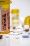 Pillen, Medizin und Flaschen Lizenzfreies Stockfoto