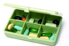 Pillen - medizinische Verordnung Stockfotos