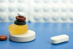 Pillen und Medizin Lizenzfreie Stockfotografie