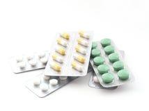 Pillen und Tabletten lizenzfreie stockfotografie