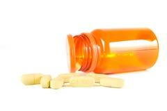 Pillen van vitamine C Stock Fotografie