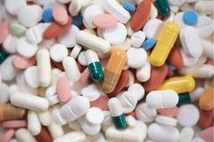 Pillenassortiment stock foto