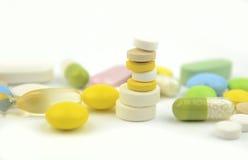 Pillengeneeskunde Royalty-vrije Stock Foto
