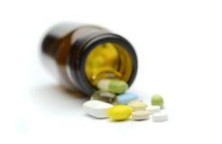 Pillengeneeskunde Royalty-vrije Stock Fotografie