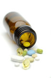 Pillengeneeskunde Stock Afbeeldingen