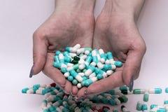 Pillenkapsel Stockbild