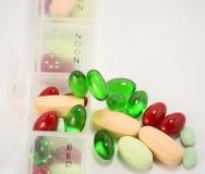 Pillenmedizin stockbilder