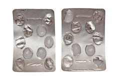 Pillepakete Lizenzfreie Stockfotos