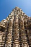 Piller Khajuraho - sutra kama Стоковое Изображение RF