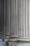 Pillers históricos altos Imágenes de archivo libres de regalías
