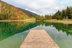 Pillersee in Tirol. Lake Pillersee near Kitzbuehel in Tyrol Royalty Free Stock Photos