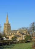 pilling英国村庄的教会lancashire 免版税库存照片