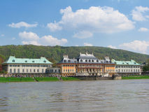 Pillnitz Castle. Famous castle near Dresden Stock Photo