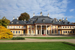 Pillnitz Castle in Dresden, Germany Royalty Free Stock Photography