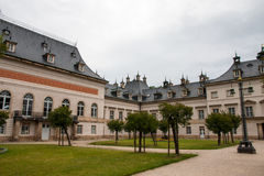 Pillnitz Castle and Park Stock Image