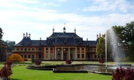 Pillnitz-Schloss in Dresden, Deutschland Stockbilder