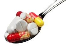 Pillola della medicina Fotografie Stock Libere da Diritti