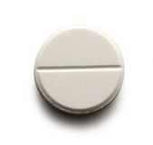 Pillola di Aspirin Immagine Stock