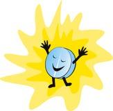Pillola felice illustrazione vettoriale