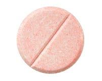 Pillola rossa Fotografia Stock Libera da Diritti