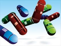 Pillole Immagine Stock Libera da Diritti