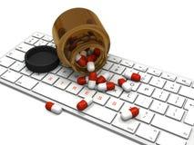 Pillole Anti-stress illustrazione vettoriale