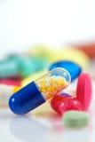 Pillole Assorted immagine stock
