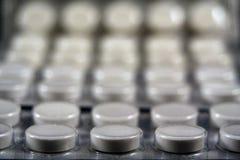 Pillole astratte Immagini Stock