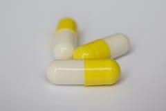 pillole/capsule /medicine - alto vicino fotografia stock libera da diritti