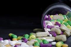 Pillole del farmaco Immagini Stock Libere da Diritti