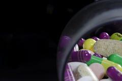 Pillole del farmaco Immagini Stock
