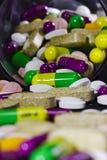 Pillole del farmaco Fotografie Stock