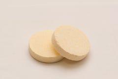 Pillole della compressa Fotografie Stock