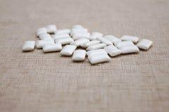 Pillole della gomma da masticare della bolla Fotografia Stock