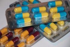 Pillole della medicina fotografie stock libere da diritti