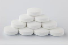 Pillole della piramide fotografia stock