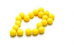 Pillole della vitamina Immagini Stock