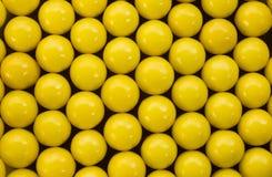 Pillole della vitamina macro Fotografie Stock Libere da Diritti