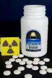 Pillole dello ioduro di potassio Fotografie Stock
